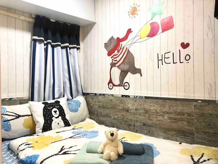 <Monthly$5800!> Cozy Double Room in Tsim Sha Tsui