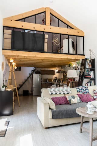 Charmant loft + Parking + Terrasse - Centre ville