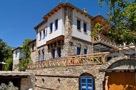 Large house for groups and families - Thasos