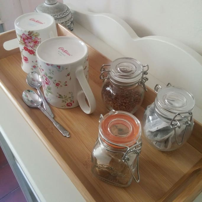 Tea & coffee making facilities from the comfort of your room