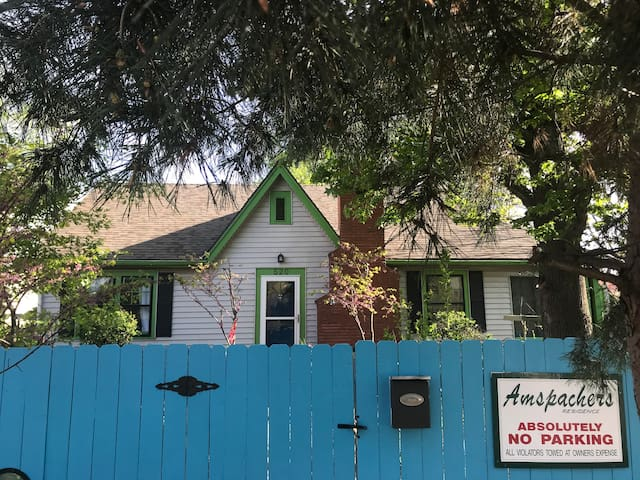 Charming historic house only 1/2 block from OU