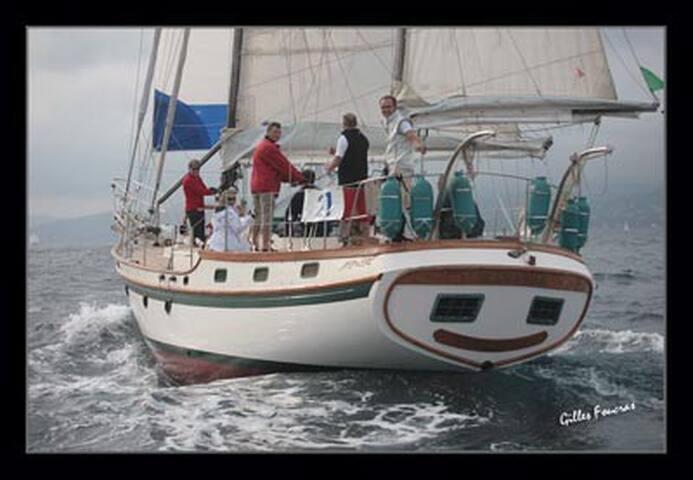 bateau d'hôte séjour inattendu - Mauguio - Barco