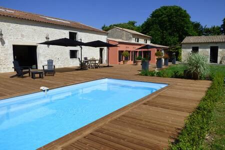LA GRANGE D'AUNIS - Chambre ZEN - AIGREFEUILLE D'AUNIS