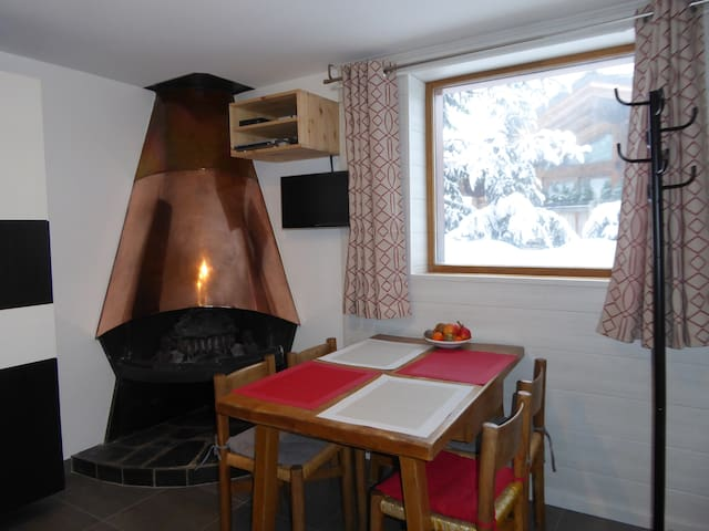 Studio 4 personnes Courchevel 1850