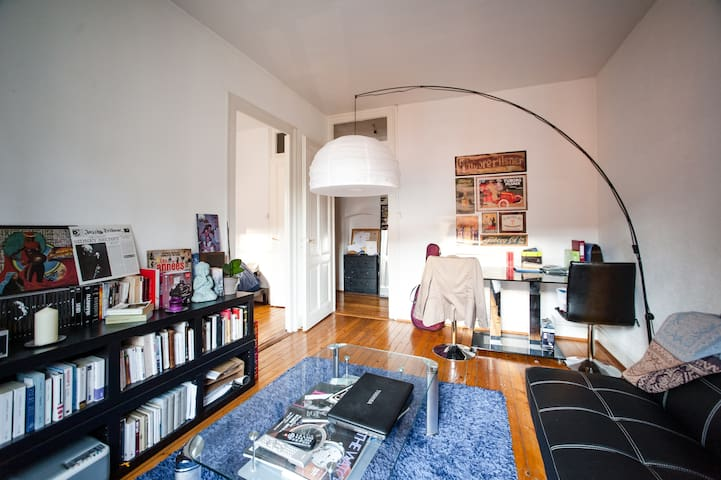 Cosy Flat 60 sqm in Geneva Center - Genève - Lägenhet