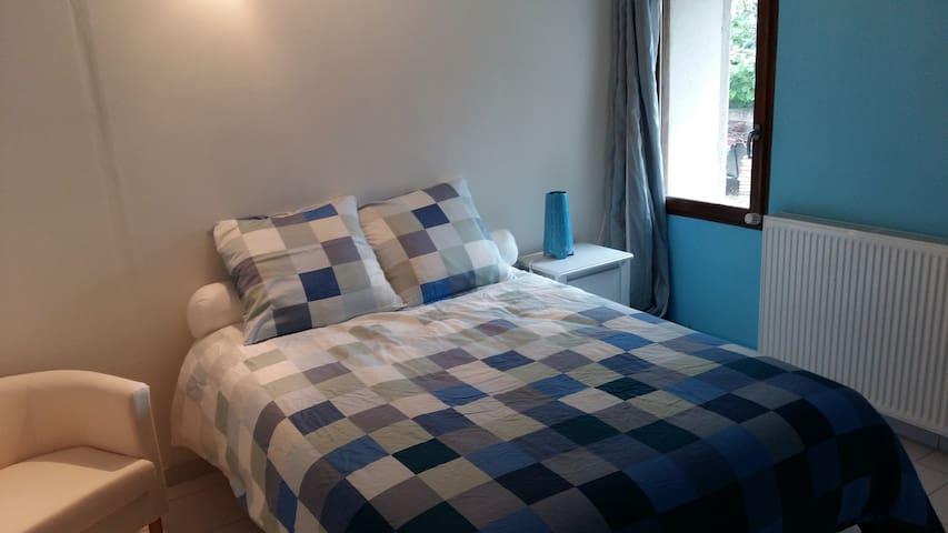 Chambre cosy dans magnifique longère restaurée - Saint-Georges-sur-Cher