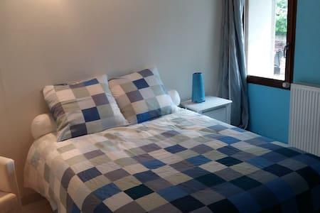Chambre cosy dans magnifique longère restaurée - Saint-Georges-sur-Cher - Σπίτι