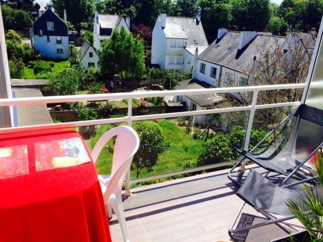 DUPLEX TERRASSE LUMINEUX - Sarzeau - Apartamento