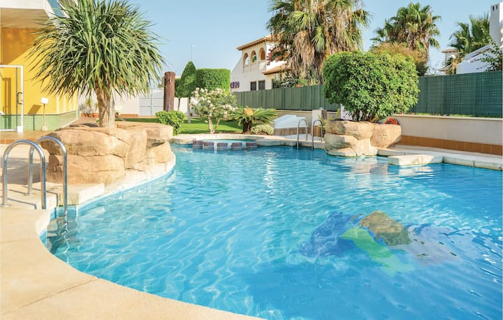 Awesome home in Orihuela Costa with WiFi and 2 Bedrooms