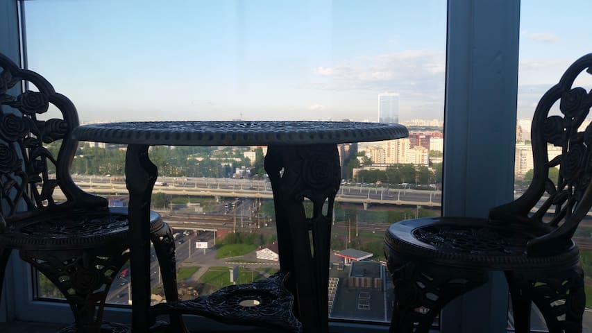 Квартира-студия - 23 этаж - Sankt-Peterburg - Pis