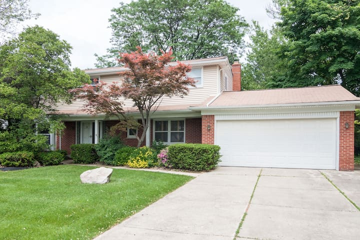 Comfortable, quiet and relaxing - West Bloomfield Township - Hus