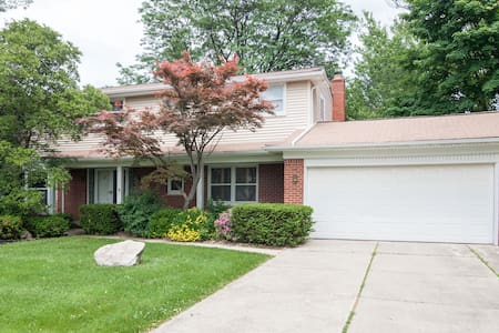 Comfortable, quiet and relaxing - West Bloomfield Township - Huis