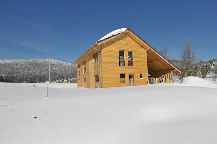 Maison neuve ossature bois à Autrans - Vercors