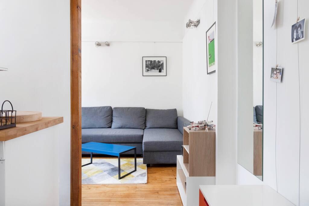 Paris charmant 2 pi ces lumineux appartements louer - Interieur appartement original et ultra moderne a paris ...