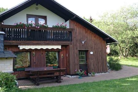 "Sonniges, idyllisches Ferienhaus ""Panoramablick"" - Piesau - Rumah"