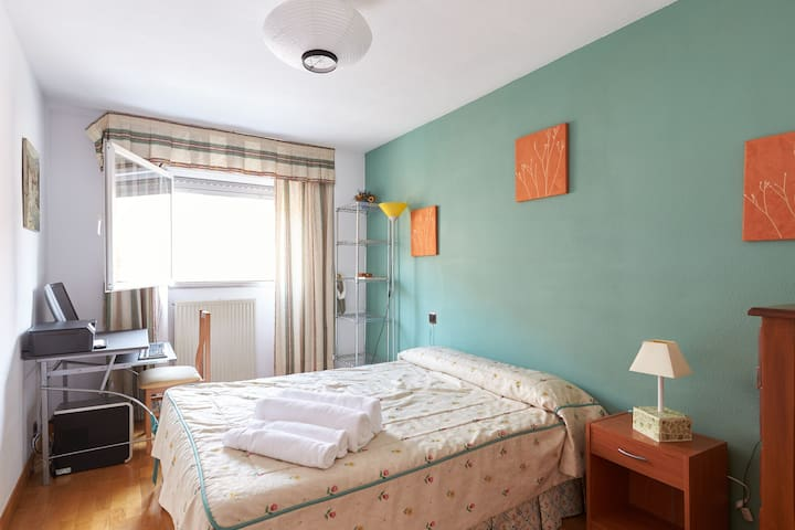 Nice double room. - Mendillorri - Appartement