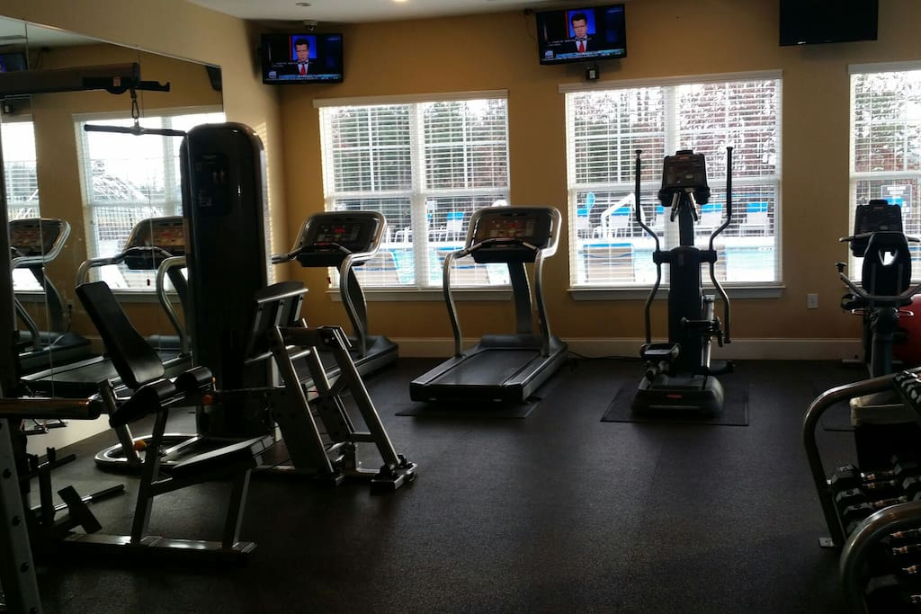 On site workout facility