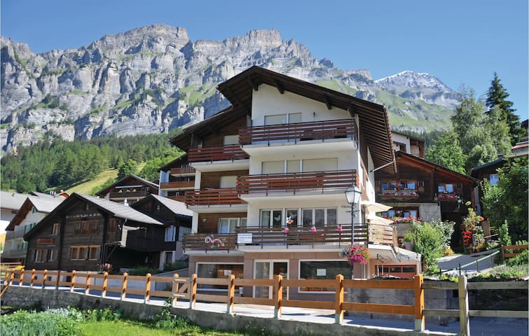 Holiday apartment with 1 room on 47m² in Leukerbad
