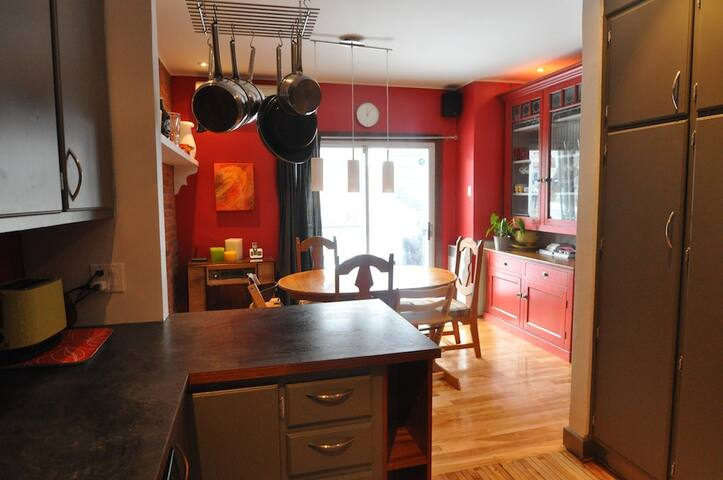 Family town house in Montreal - Montréal - Apartment
