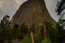 Devil's Tower 2 hour drive from studio