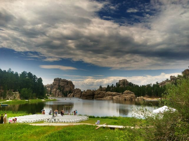 Sylvan Lake 45 min from studio