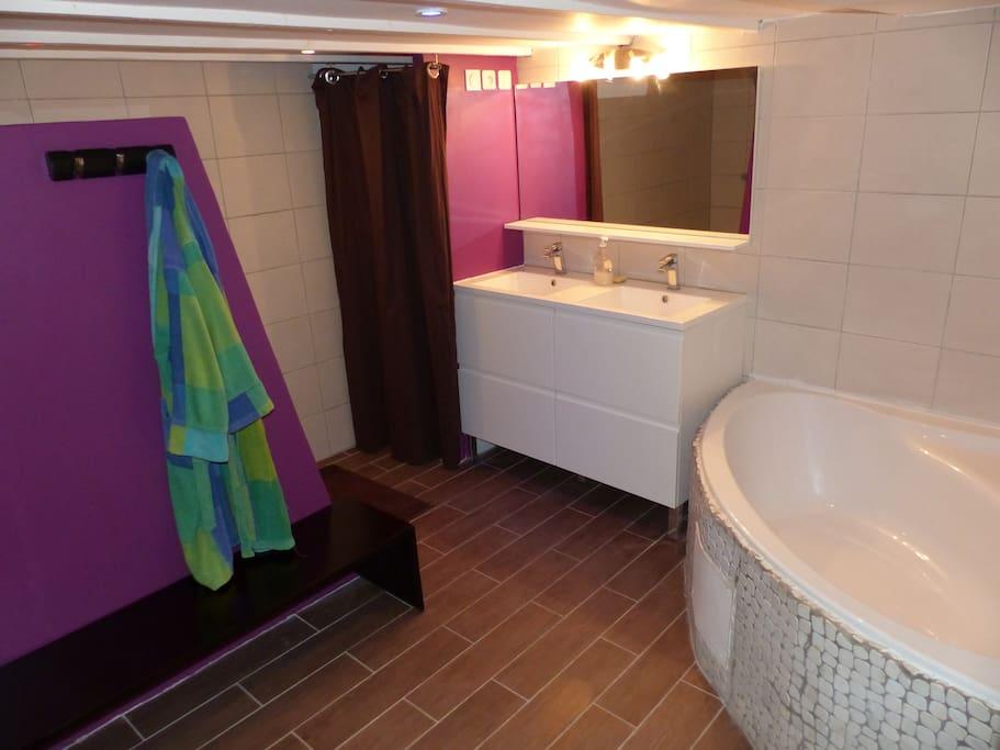 la salle de bain de 10m2