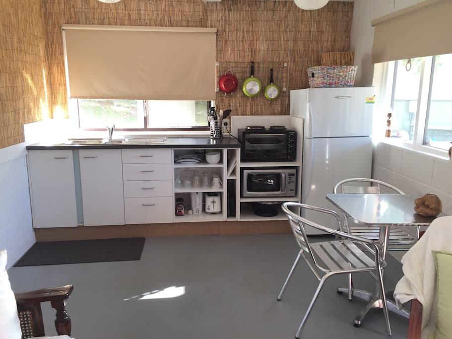 Small but equipped kitchen