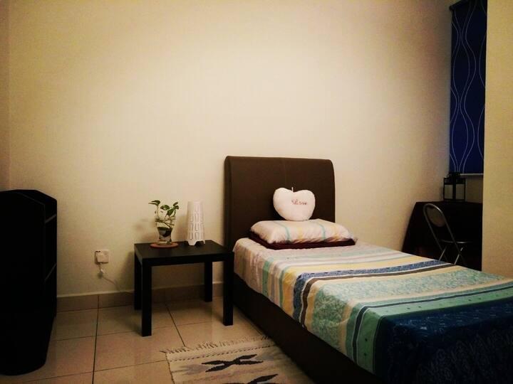 GreenHouse [Private Room+Bath Room near TBS]