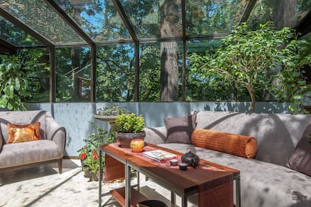 Stunning Treetop Private King Suite - Portland - Hus
