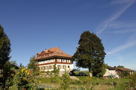 Mitten im Naturpark Gantrisch - Wohnung