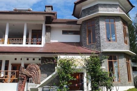 Villa with great view and hiking - Lembang