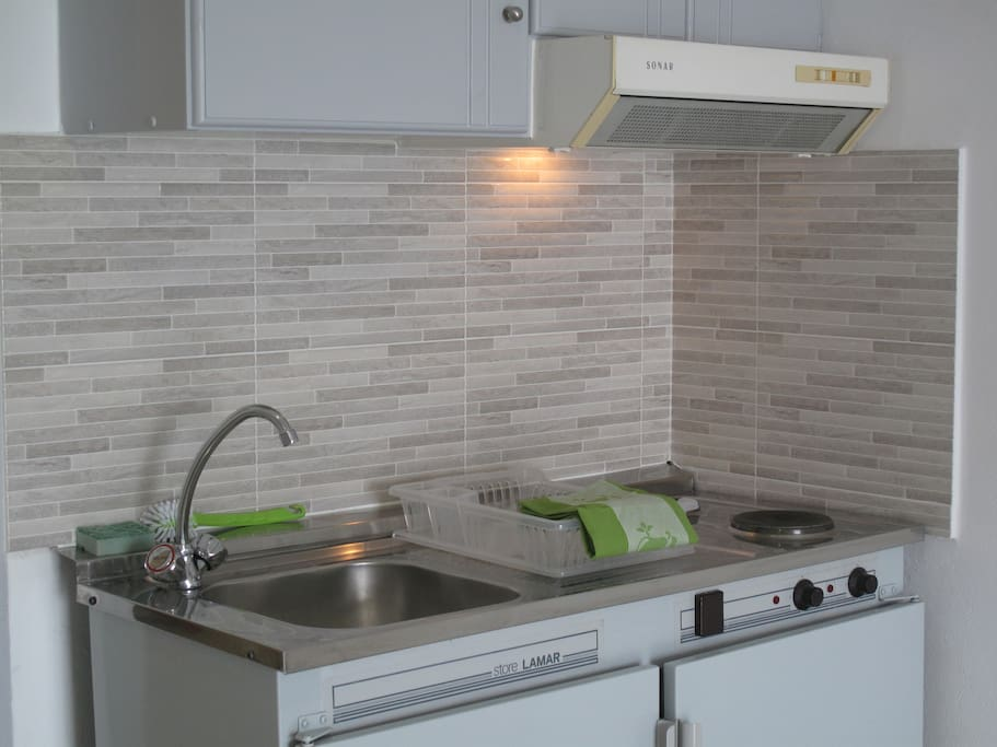 Kitchen for prepairing simple meals