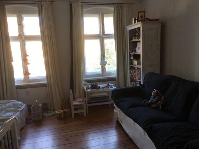 Hübsche, ruhige Altbau-Wohnung in Berlin-Wedding