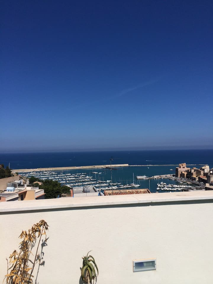 T1 terrace Castellammare del Golfo