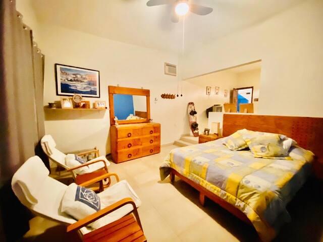 Rento habitación-Junior Suite, acceso directo-Lago