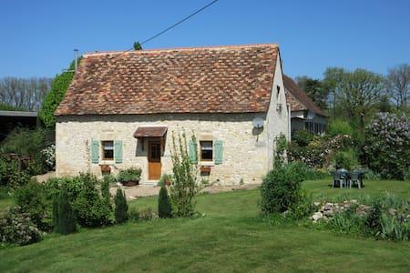 Chenevaux Gite jardin, piscine, golf, terrain 3ha. - Saint-Pierre-de-Maillé