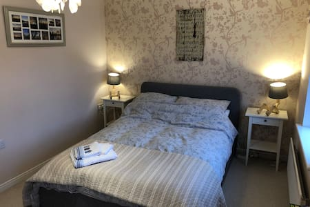 Double room. Quiet location and lovely rambles.