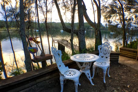 Idyllic Riverside setting with jetty - Wow! - Nelligen - Hytte