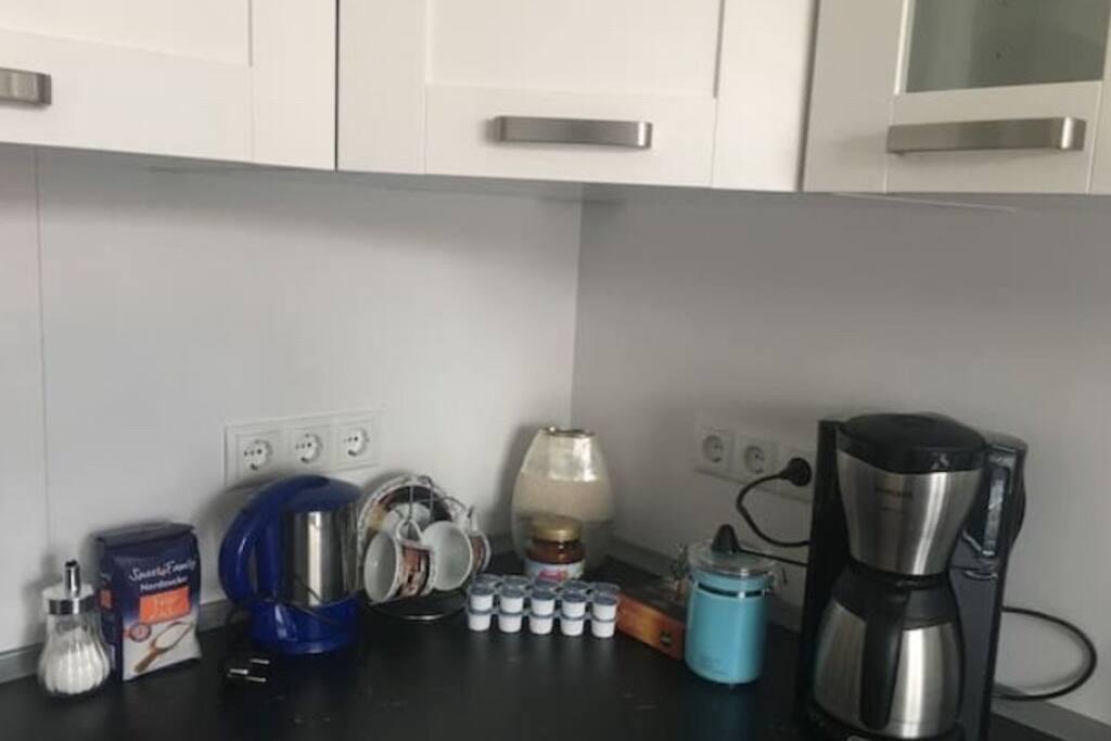 freier Kaffee für unsere Gäste