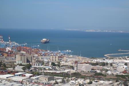 Shoshana's Quaint Awesome View B&B - Haifa