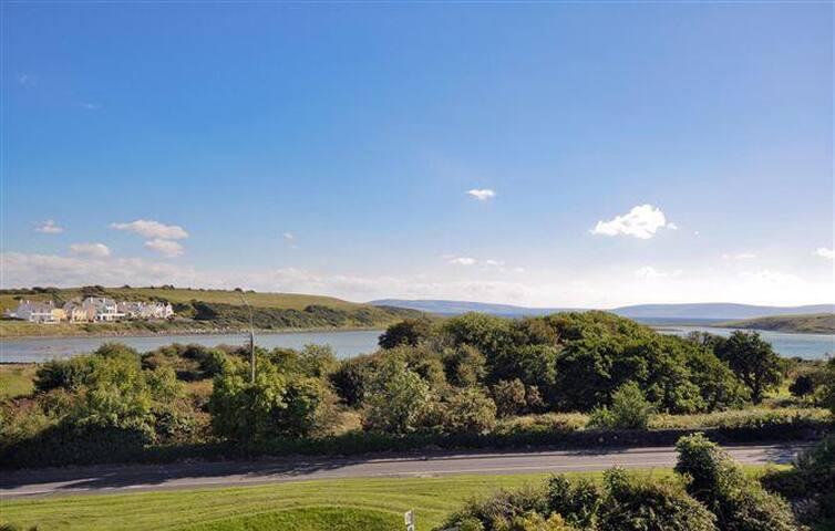 Sunning Views of Galway Bay