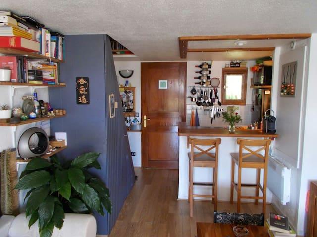 Appartement zen et cosy, au calme.. - Villeneuve-Loubet - Casa