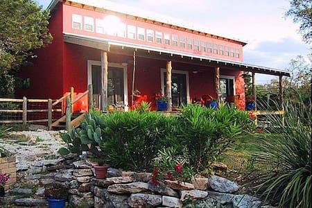 Southwestern Adobe Guest House - Austin
