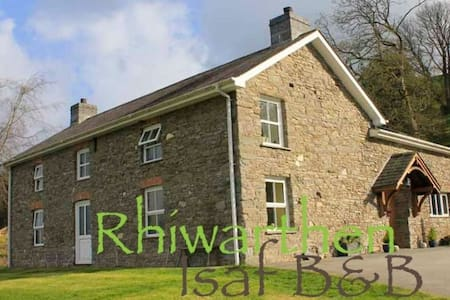 Rhiwarthen Isaf Farmhouse B&B - Double Room