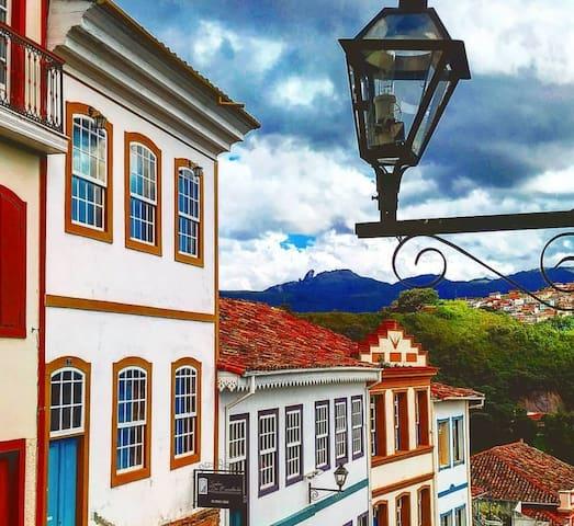 Quarto Privativo de Casal - Centro histórico