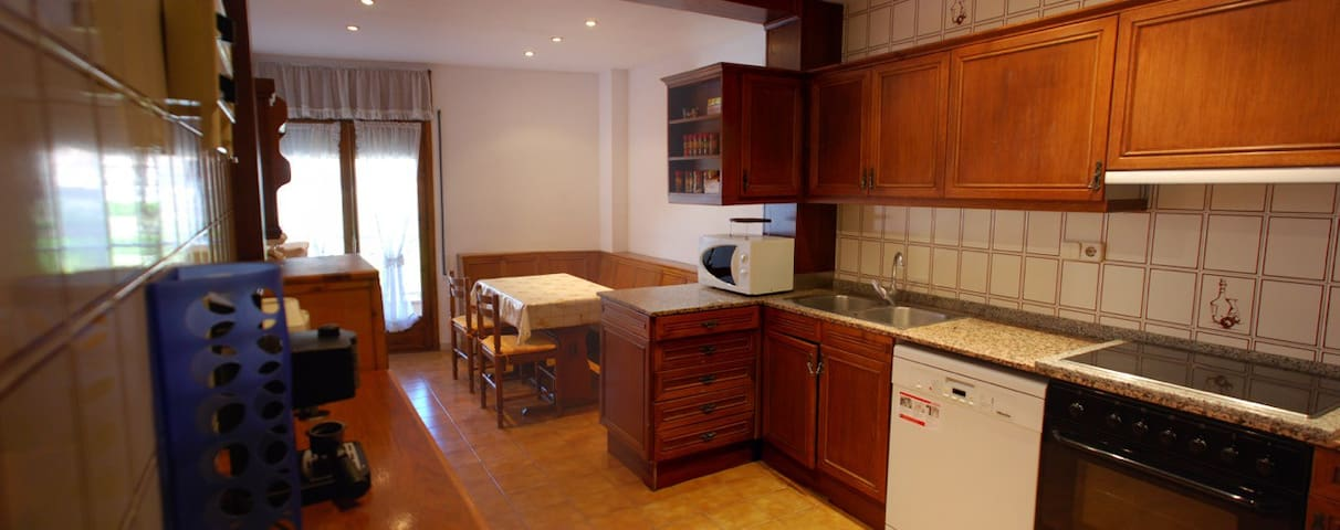 Bright/Large flat family friendly - La Pobla de Segur - Apartamento