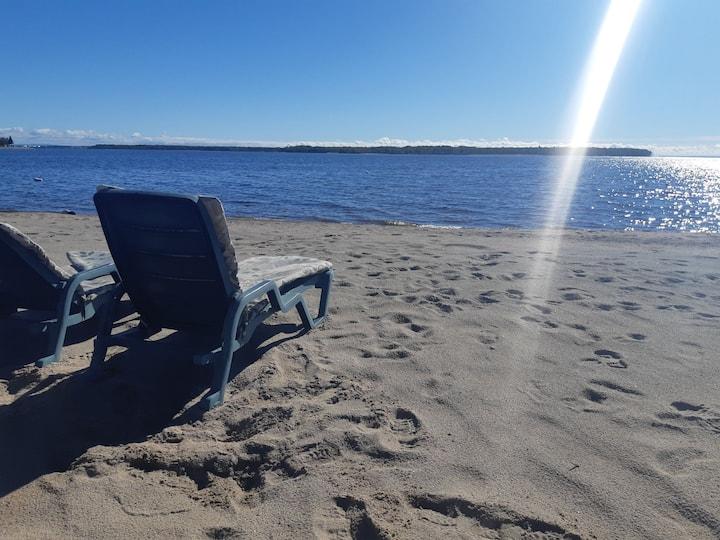 Fifthweel  à louer au bord du lac-st Jean