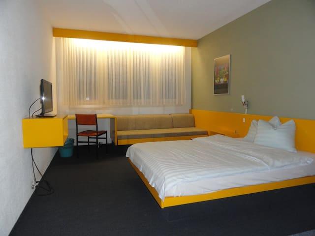 Hotel Garni Home - Winterthur - Oda + Kahvaltı