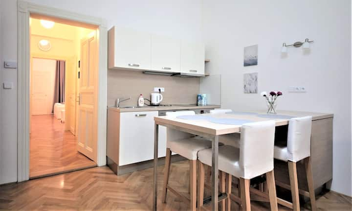 2-Bedroom Comfortable Apartment Prague 6, Subway
