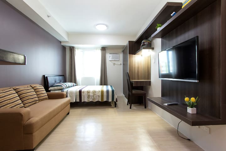 Fully furnished studio type condo - Quezon City - Wohnung